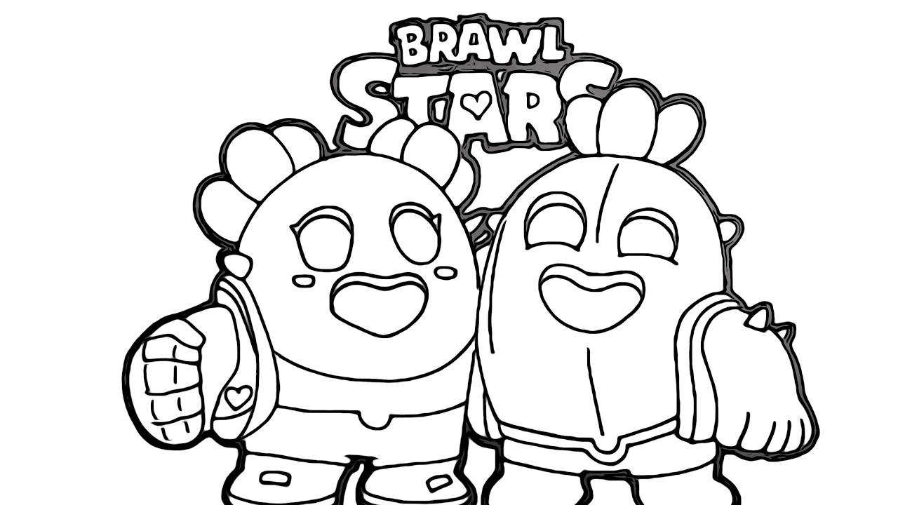 spike von brawl stars malvorlagen kostenlos ausdrucken